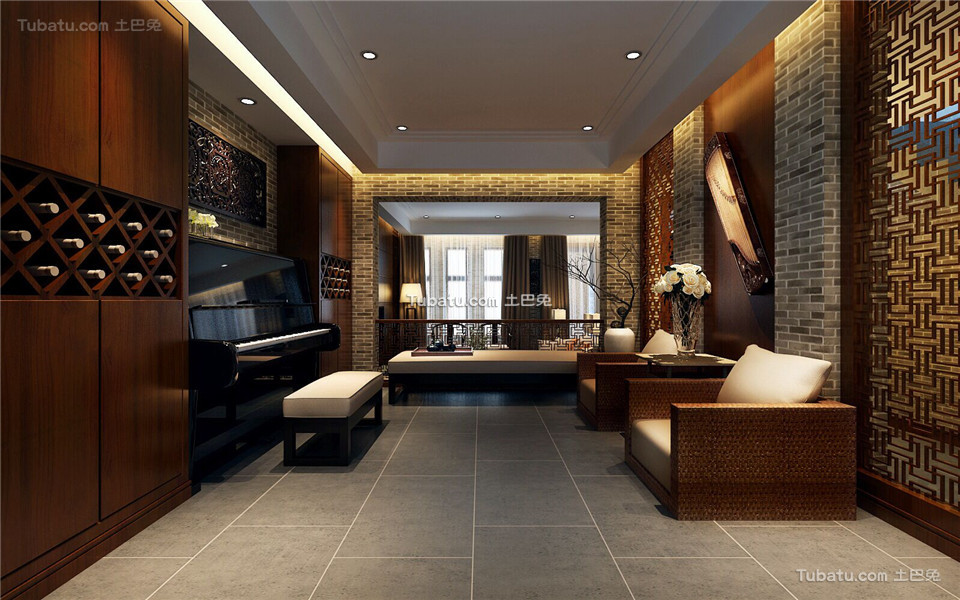 中式风格家居装修效果图