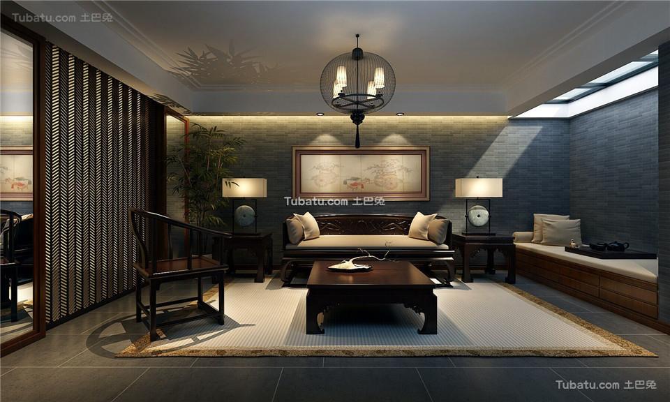 中式家居茶室装修案例