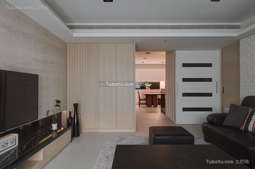 现代风格内部装修设计客厅图