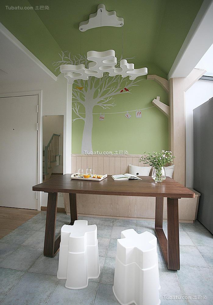 现代创意家居餐厅装修案例