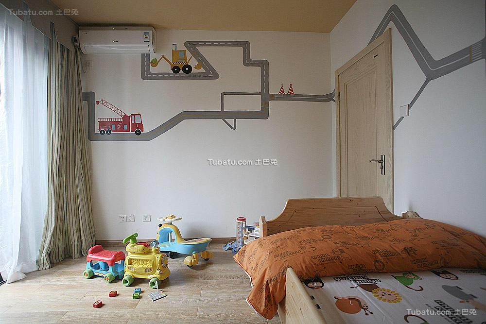 现代风格儿童房装修案例
