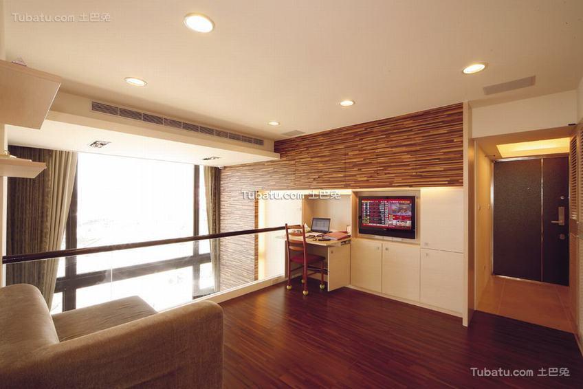 美式创意电视背景墙
