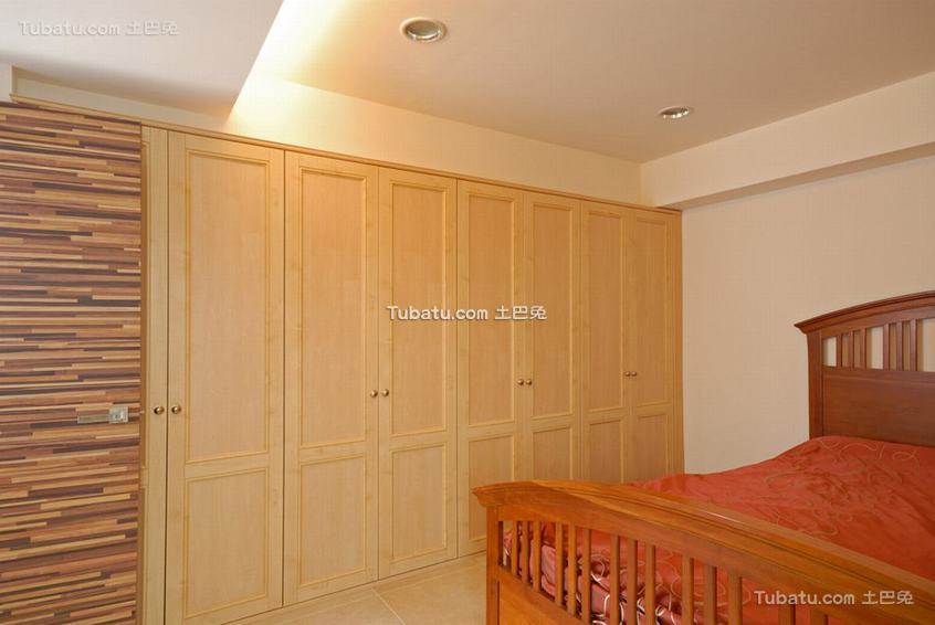 美式家具衣柜图片
