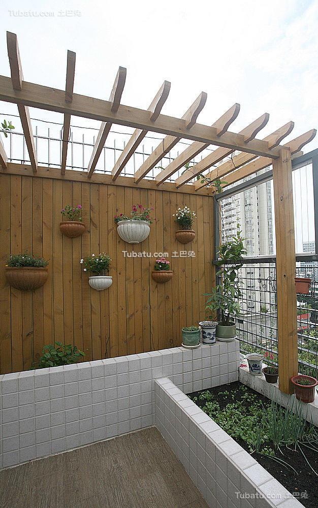 现代复式小花园