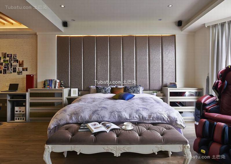 现代日式装饰卧室图欣赏