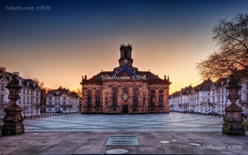 教堂广场设计图片