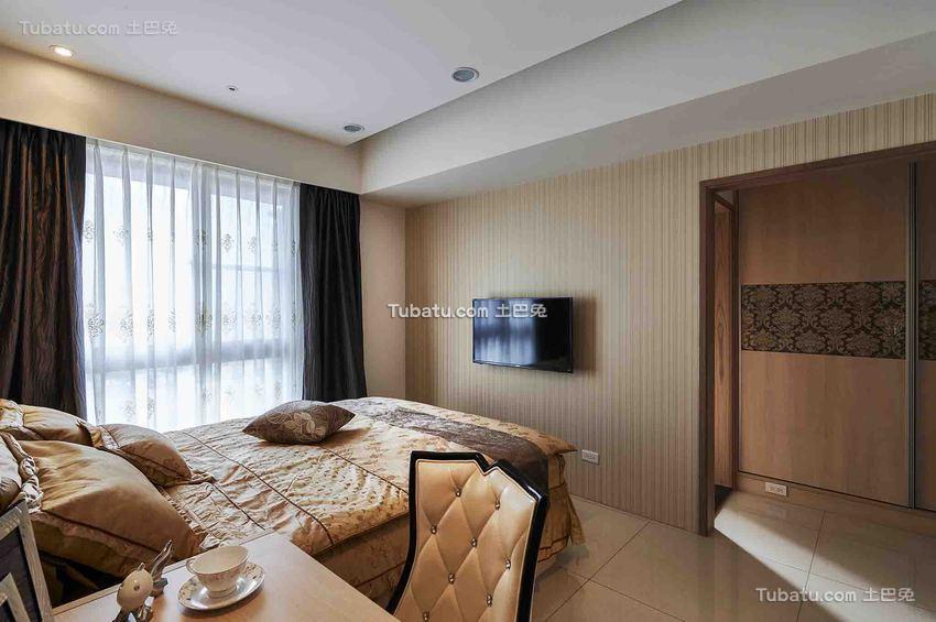 现代休闲家居卧室装修