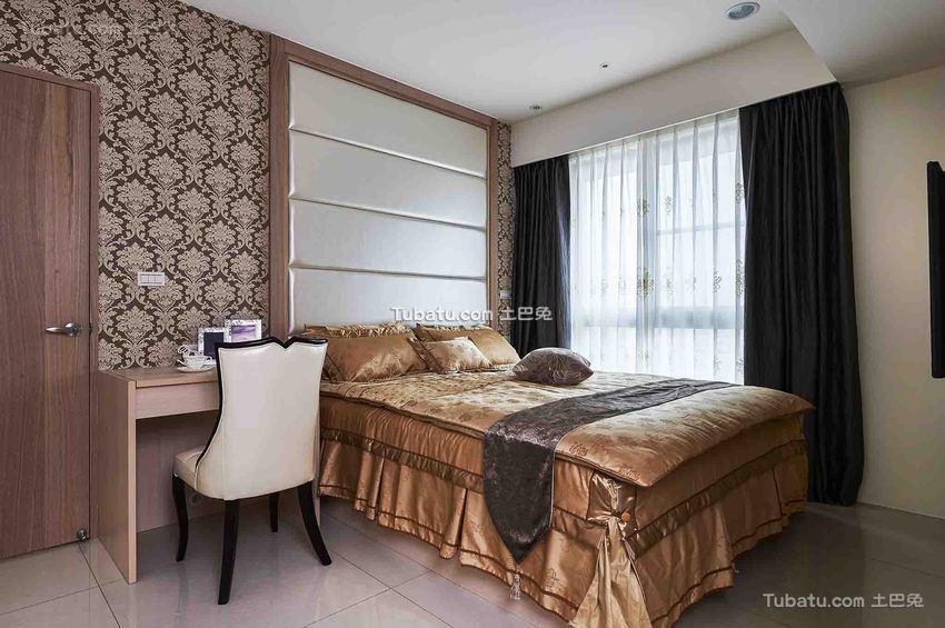 现代休闲家居卧室装修案例