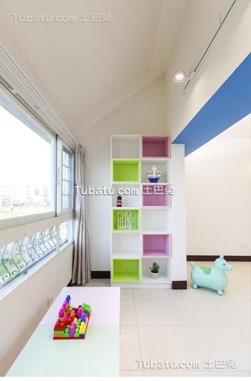 简约风格两居室儿童房装修设计图片