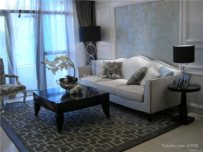 现代家居客厅装修展示