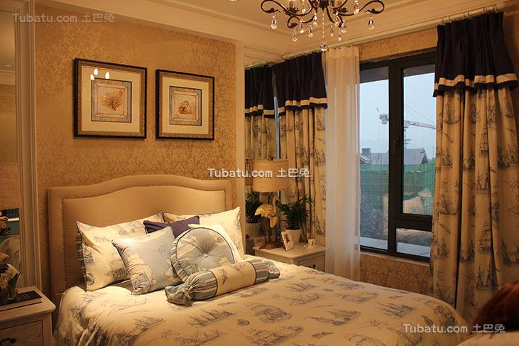地中海风格卧室展示案例