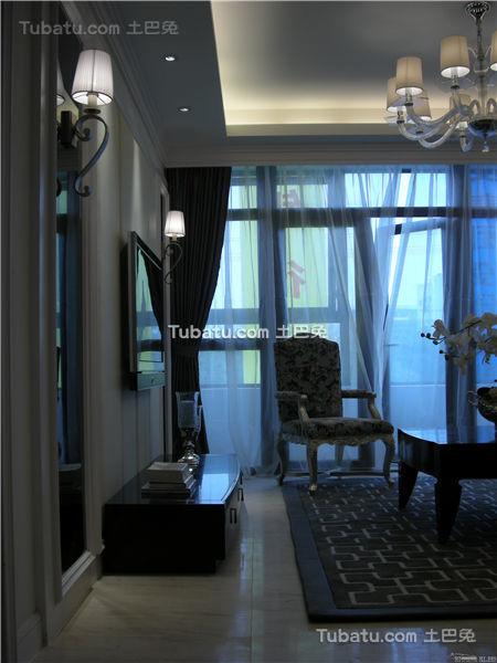 现代家居客厅局部装饰展示