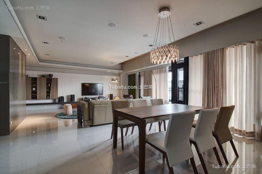 现代三居客厅室内设计图片