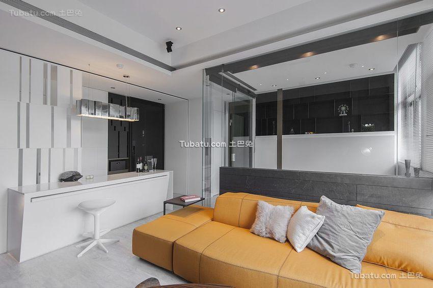 现代小面积家居装修案例