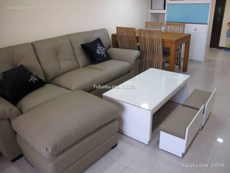 简约客厅沙发装修