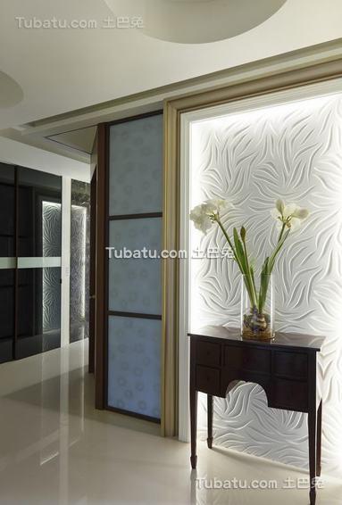 现代家居装饰柜展示