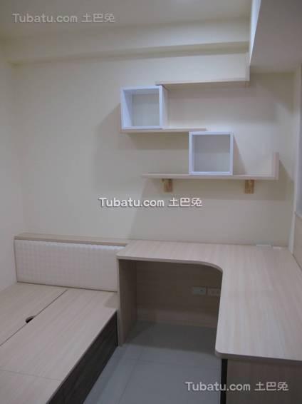 简约卧室书桌台装修