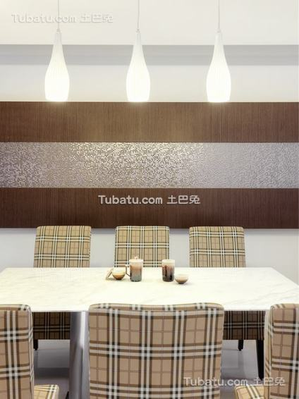 现代禅风餐厅装饰
