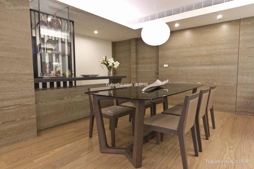 现代优雅餐厅整体装修