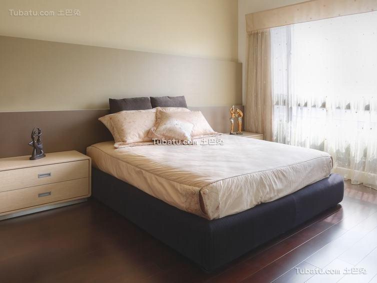 现代卧室装修案例展示