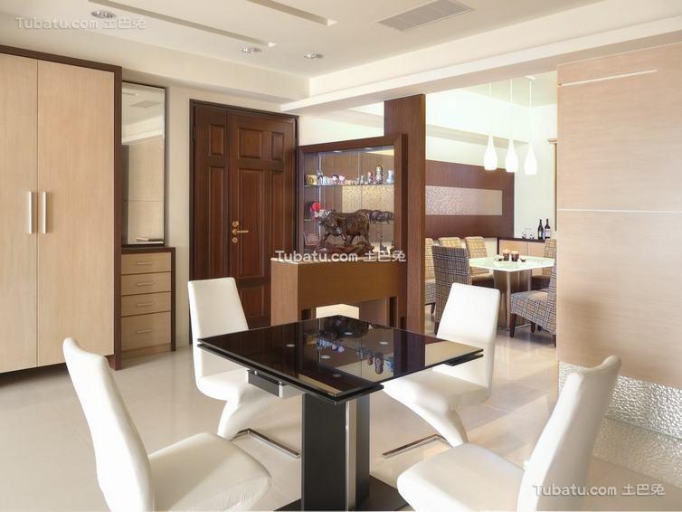 现代禅风书桌台装修