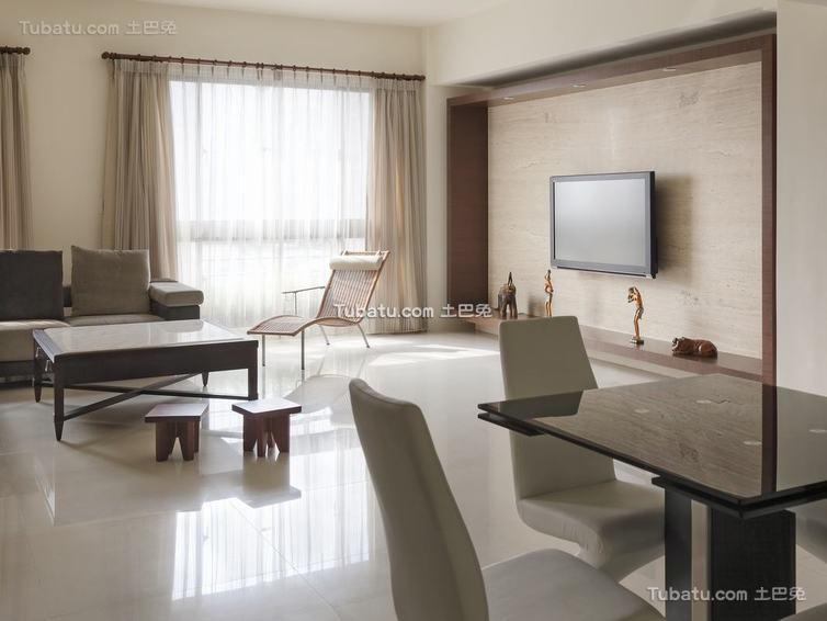 现代禅风两居室装修