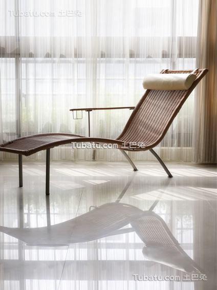 现代禅风躺椅装修案例
