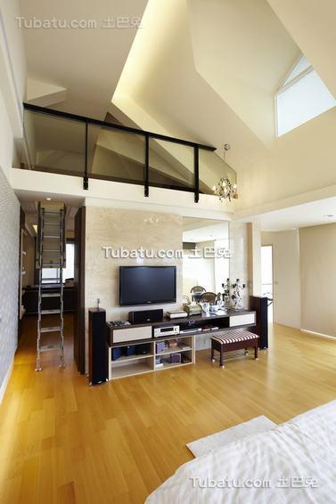 现代loft卧室装修