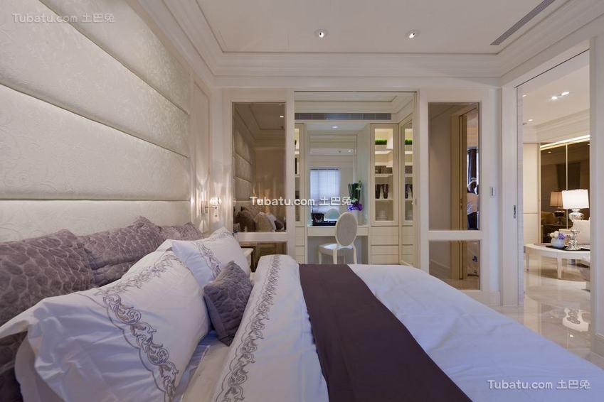 简约风格卧室隔断设计
