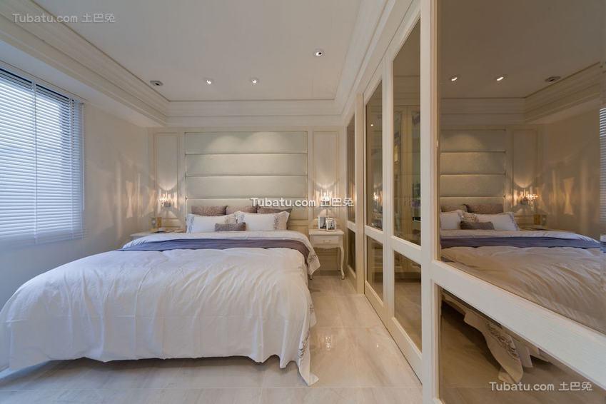 简约卧室装修效果图大全2015图片