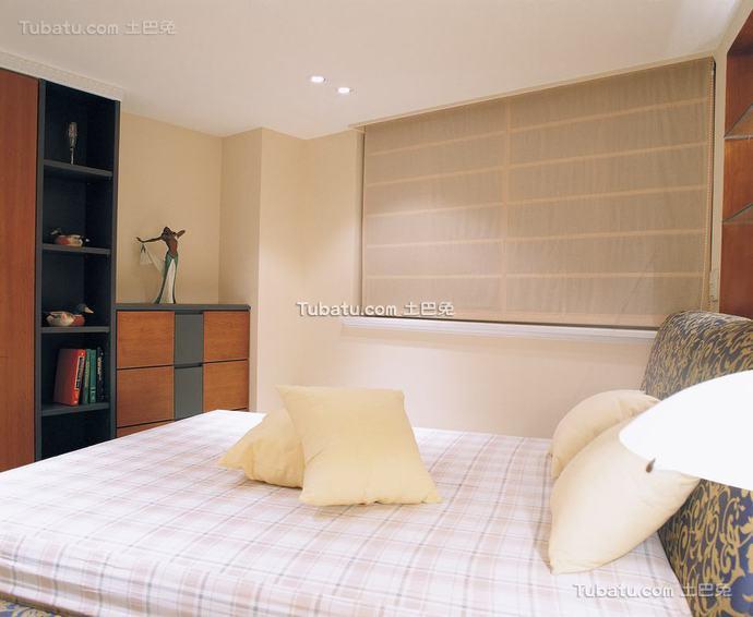 日式竹窗帘