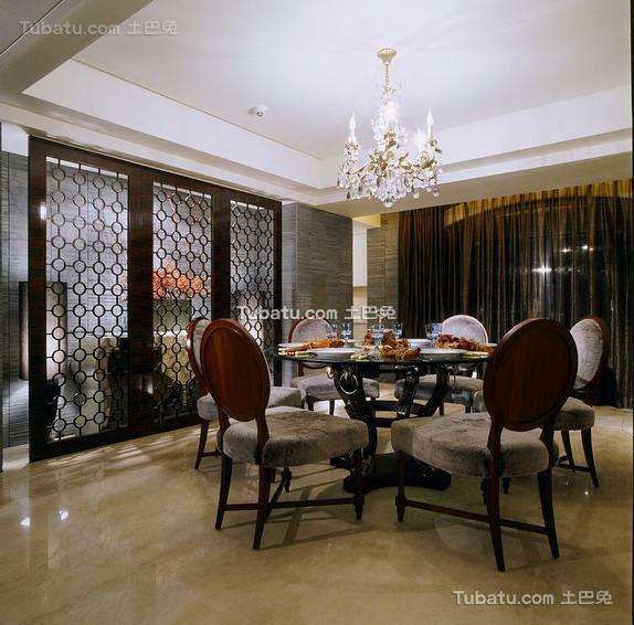现代风格餐厅室内装修图片