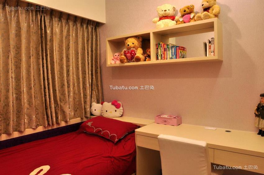 现代家装儿童房效果图2015