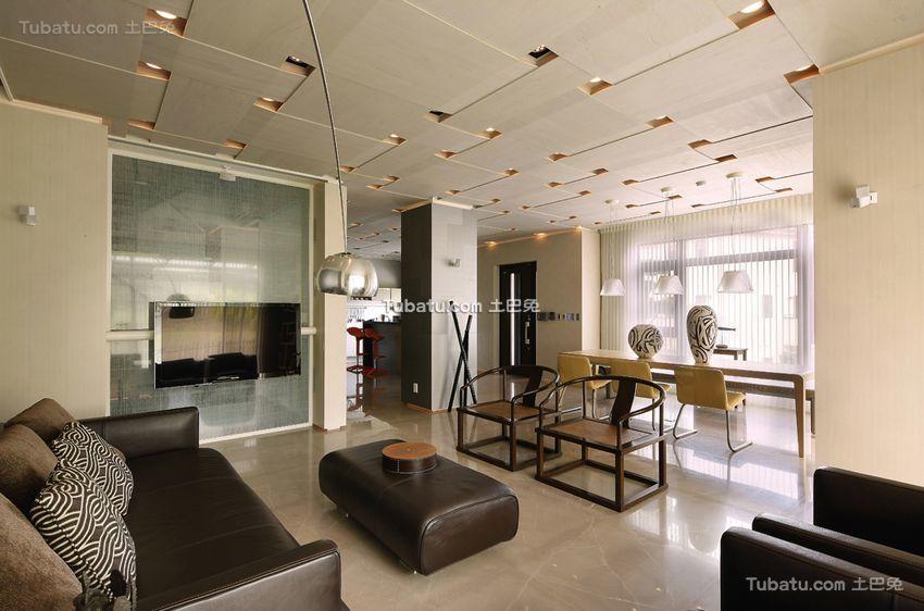 现代两居室装修