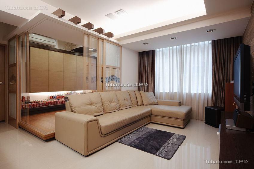 日式家居两居室装修案例