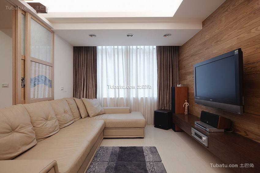 日式家居客厅装修展示