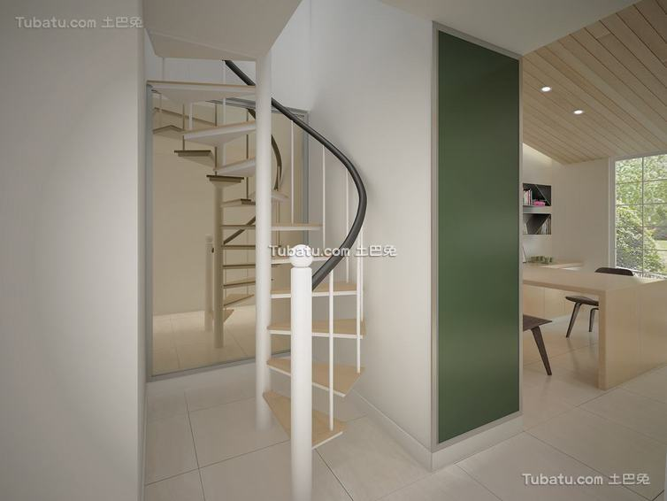 时尚宜家风格室内楼梯装修图片