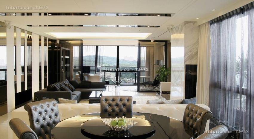 简约现代风格设计客厅图欣赏