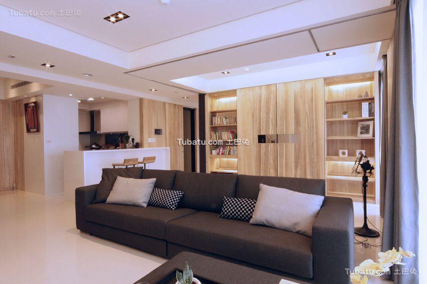 现代日式室内沙发图片大全