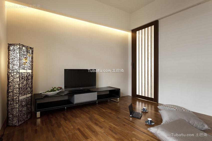 日式电视背景墙装修