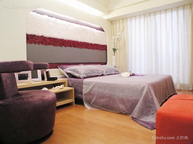 家装效果图卧室现代简约