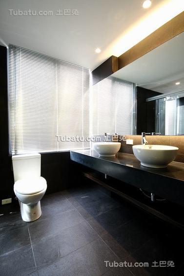 现代卫生间家居装修案例展示