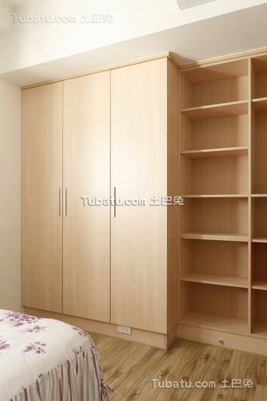 美式实木衣柜