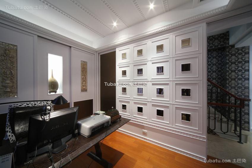 新古典书房装修案例