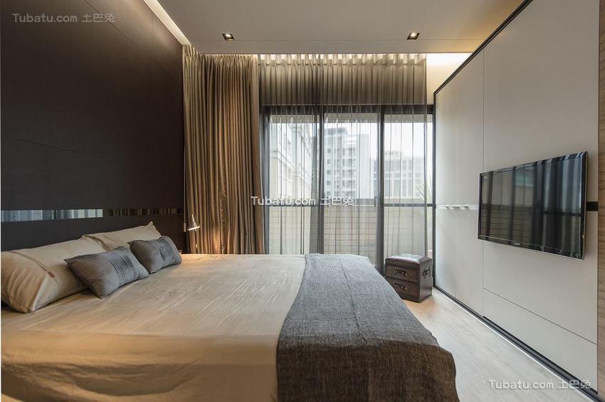 现代卧室展示案例