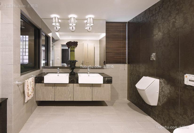 最新现代风格卫生间室内设计图片