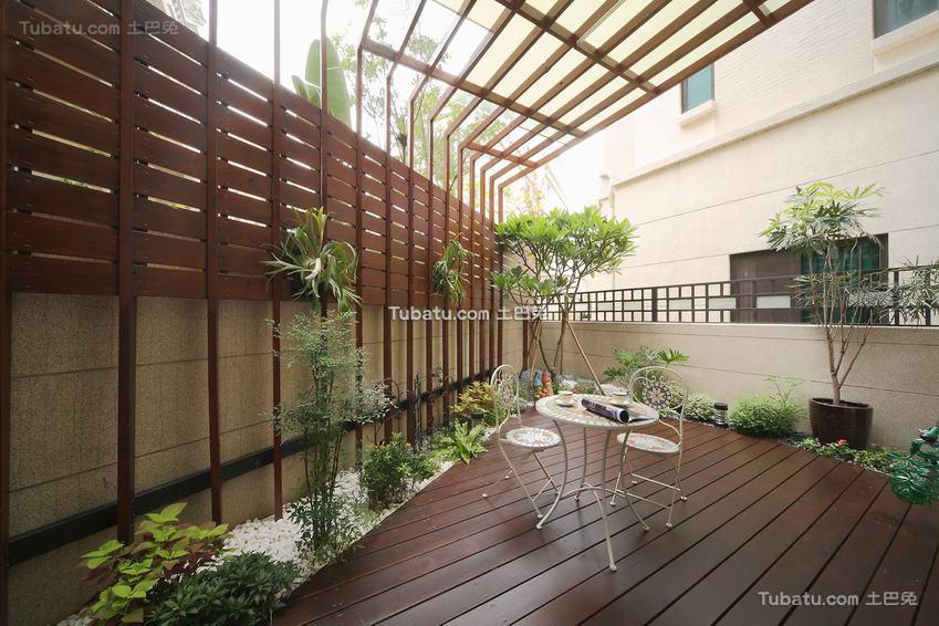 现代家居花园展示