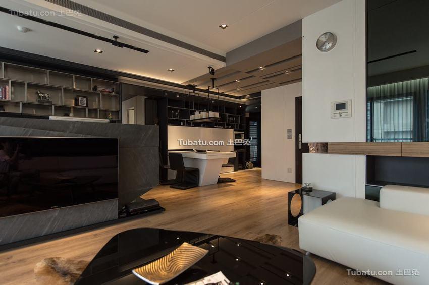 现代风格一居室装修效果图
