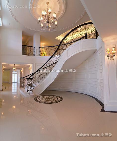 欧式楼梯造型装修