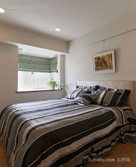 美式风格一居卧室内装修图片
